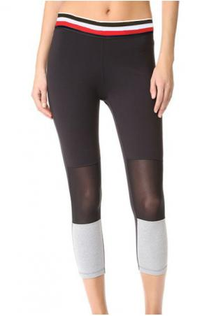 Mesh Splicing Yoga Sport Pants