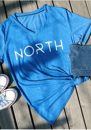 North V-Neck T-Shirt