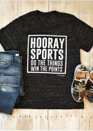 Hooray Sports Win The Points T-Shirt