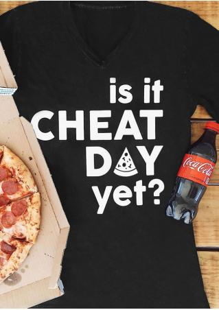 Is It Cheat Day Yet T-Shirt
