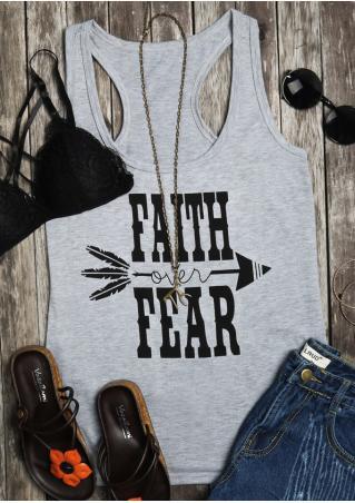 Faith Over Fear Arrow Tank