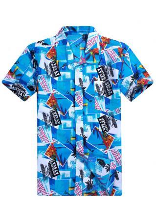 Coconut Tree Printed Shirt