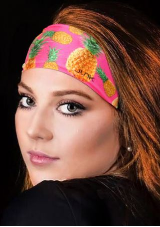 Pineapple Printed Elastic Fashion Headband