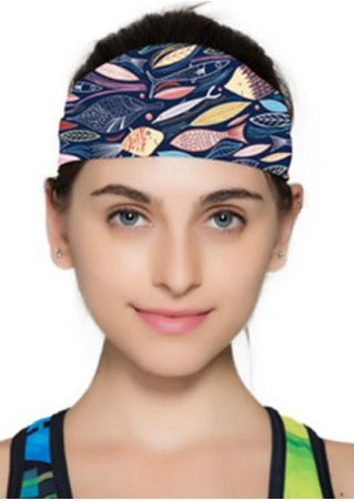Printed Elastic Fashion Yoga Headband