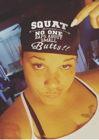 Squat Because No One Raps About Small Butts Headband