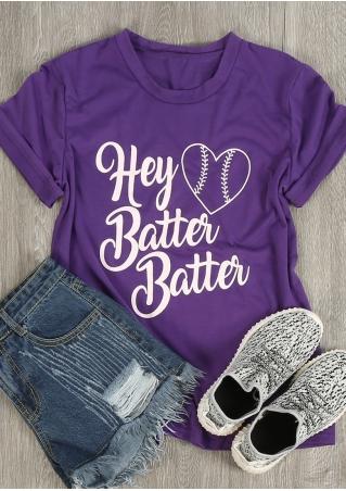 Hey Batter Batter Heart T-Shirt
