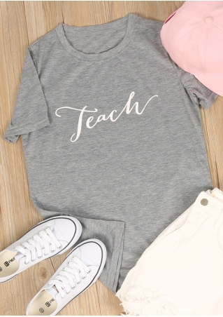 Teach Short Sleeve T-Shirt