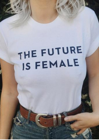 The Future Is Female T-Shirt without Necklace