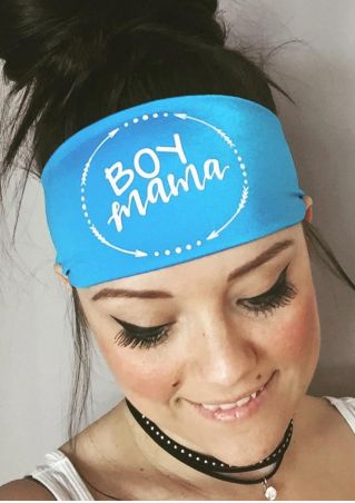 Boy Mama Arrow Headband