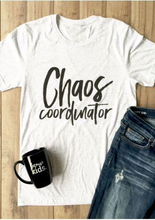 Chaos Coordinator O-Neck Short Sleeve T-Shirt