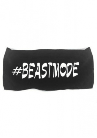 Beast Mode Elastic Headband