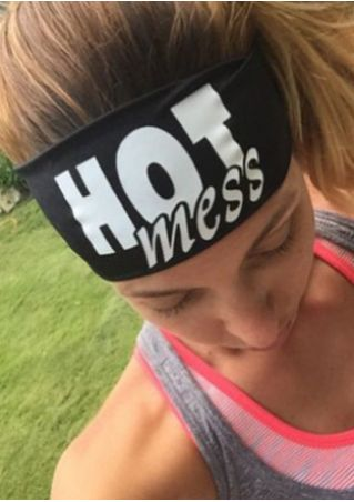 Hot Mess Elastic Headband