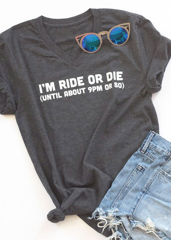 I 39 m ride or die t shirt bellelily for Ride or die jewelry