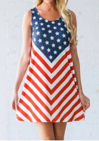 American Flag Mini Dress