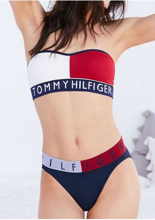 Tommy Hilfiger Color Block Bikini Set