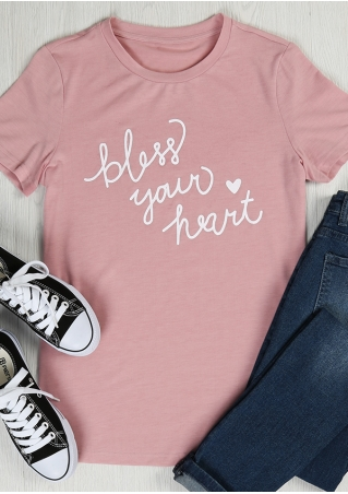 Bless Your Heart O-Neck T-Shirt