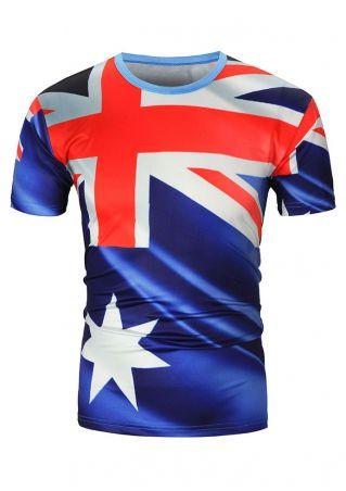 Australian Flag Short Sleeve T-Shirt