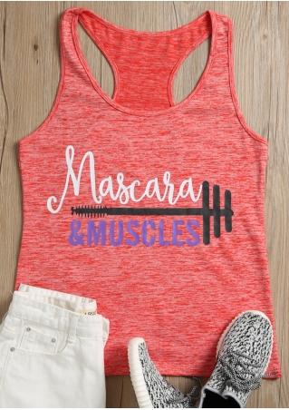 Mascara & Muscles Tank