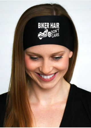 Biker Hair Don't Care Headband