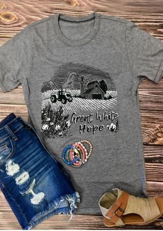 Great White Hope O-Neck T-Shirt