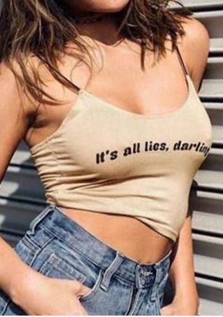 It's All Lies Darling Camisole