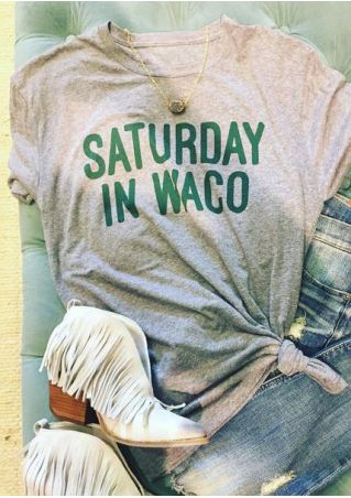 Saturday In Waco T-Shirt without Necklace