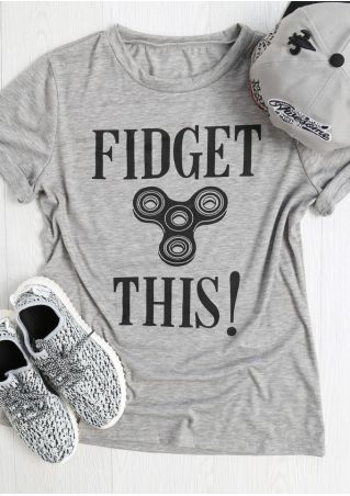 Fidget This Finger Fidget Spinner T-Shirt