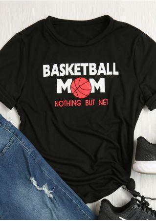 Basketball Mom Short Sleeve T-Shirt