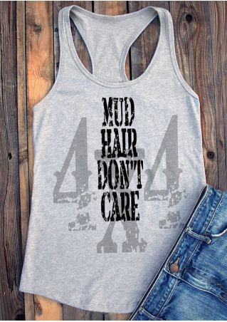 Mud Hair Don't Care Tank