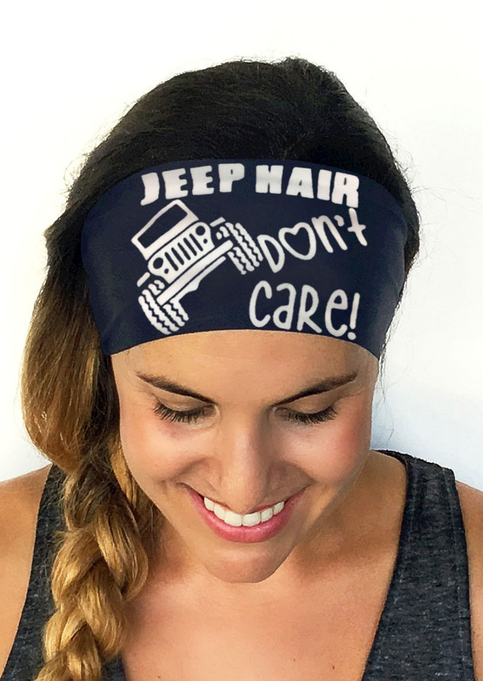 Jeep Hair Don T Care Headband Bellelily