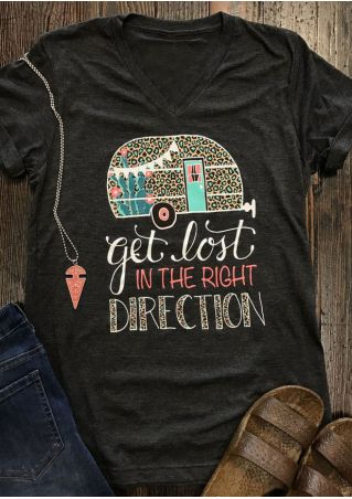 Get Lost In The Right Direction T-Shirt
