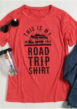 This Is My Road Trip Shirt T-Shirt