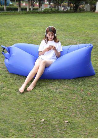 Inflatable Lazy Air Sleeping Bag Beach Sofa
