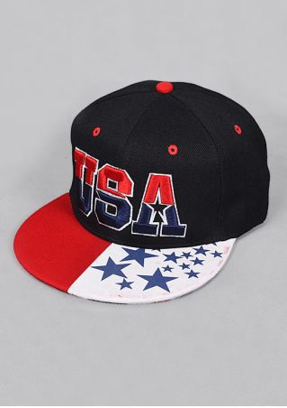 USA Star Casual Baseball Cap