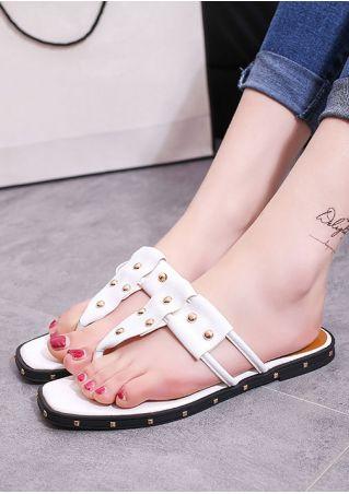 Summer Flat Flip Flops