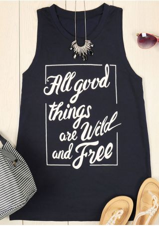 All Good Things Are Wild And Free Tank
