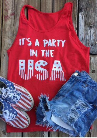 It's A Party In The USA Tank