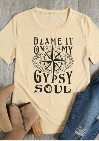 Blame It On My Gypsy Soul T-Shirt