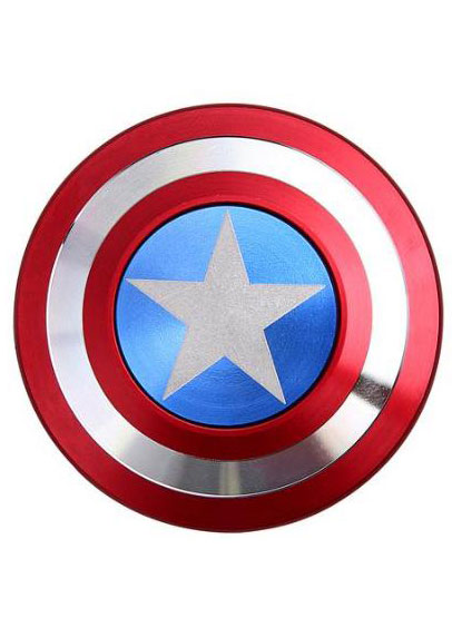 how to make a captain america shield fidget spinner