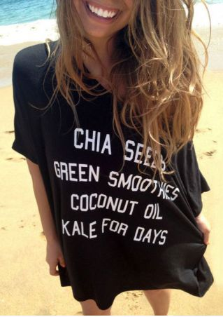 Chia Seeds Green Smoothies T-Shirt