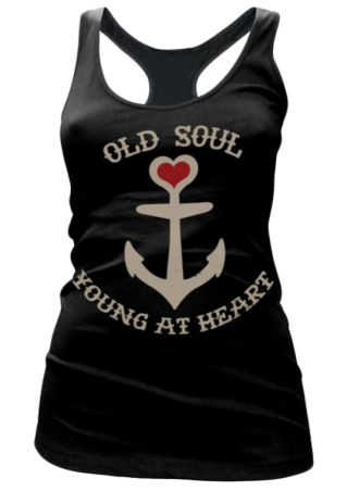 Old Soul Young At Heart Tank
