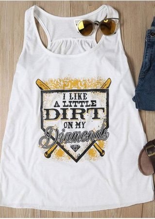 I Like A Little Dirt On My Diamonds Tank
