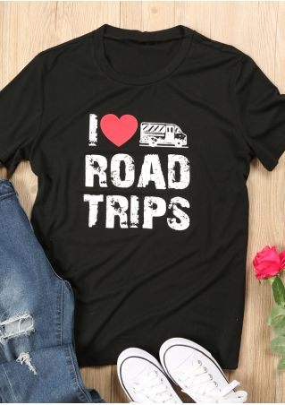 I Love Road Trips T-Shirt