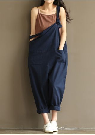 Solid Pocket Knot Dungaree