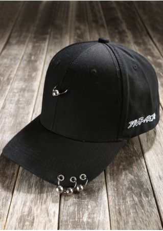 Solid Pin Adjustable Baseball Hat
