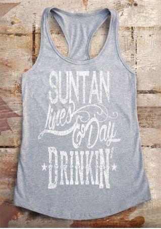 Suntan Lines & Day Drinkin' Tank