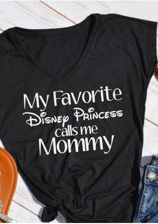My Favorite Disney Princess Calls Me Mommy T-Shirt