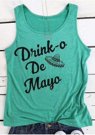 Drink-o De Mayo Hat Tank