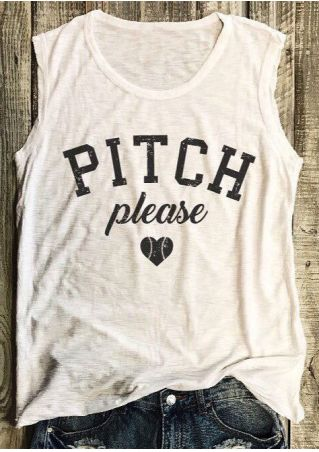 Pitch Please Heart O-Neck Tank