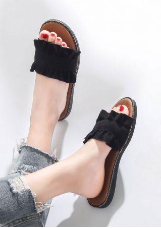 Summer Flat Slide Sandals